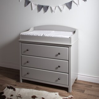South Shore Cotton Candy Changing Table with Drawers