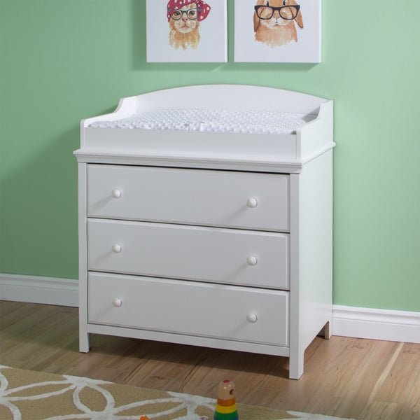 South Shore Cotton Candy Changing Table with Drawers. Opens flyout.