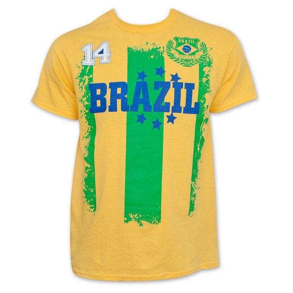 Shop Brazil Soccer Team World Cup Jersey Shirt - Free Shipping On Orders  Over  45 - Overstock - 10429338 586ecd645b23