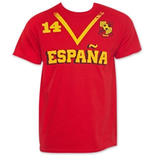 Spain Soccer Team 2014 World Cup Jersey Shirt