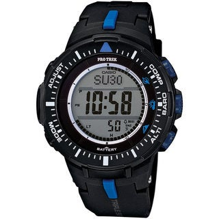 ProTrek Triple Sensor Watch Blue Black