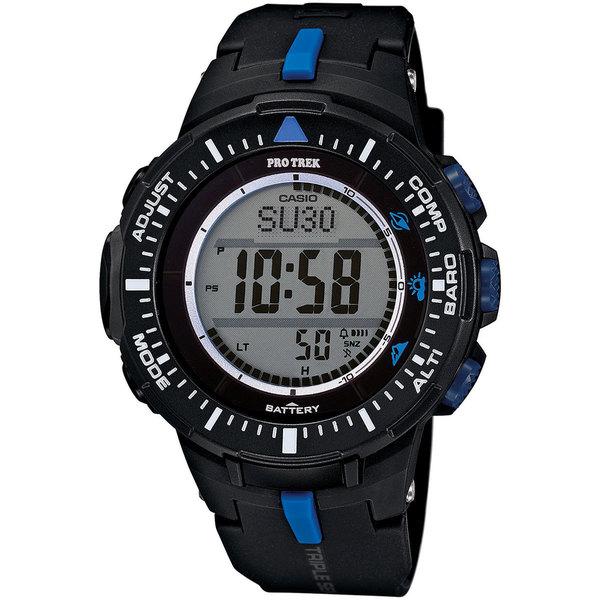 ProTrek Triple Sensor Watch Blue Black
