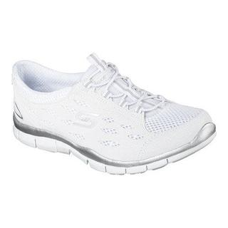 Women's Skechers Gratis Bungee Sneaker Going Places/White
