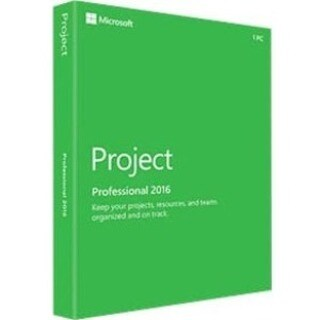 Microsoft Project 2016 Professional - Box Pack - 1 PC