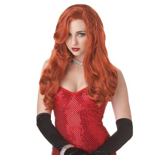Long Sexy Red Wig