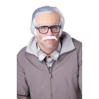 Rude Grandpa Wig and Mustache