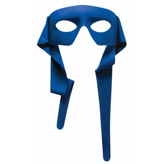Blue Eye Mask with Ties