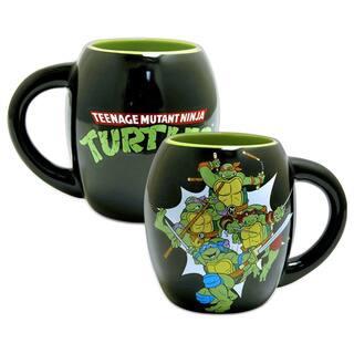 Teenage Mutant Ninja Turtles Oval Black 18-ounce Coffee Cup https://ak1.ostkcdn.com/images/products/10430655/P17528656.jpg?impolicy=medium