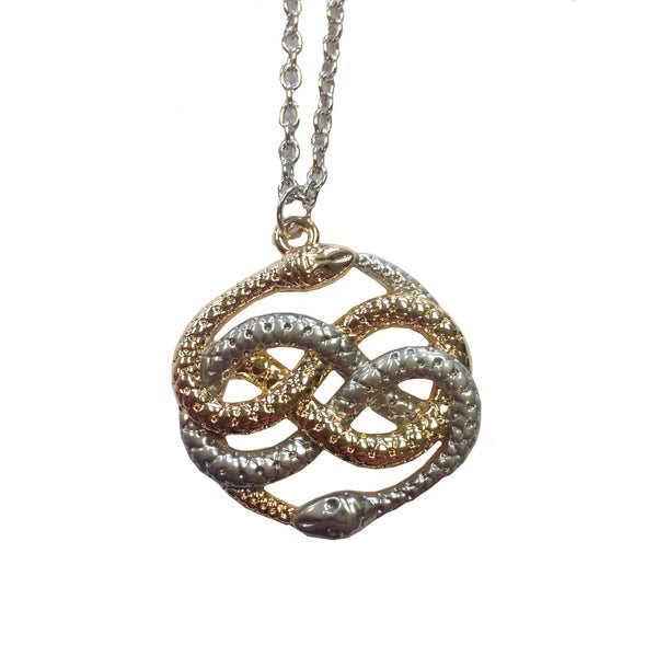 Shop neverending story atreyu infinity snake pendant free shipping neverending story atreyu infinity snake pendant aloadofball Gallery
