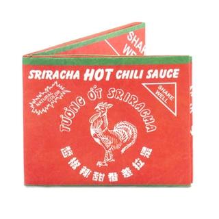 The Mighty Wallet Sriracha Tyvek Dynomighty Hot Sauce