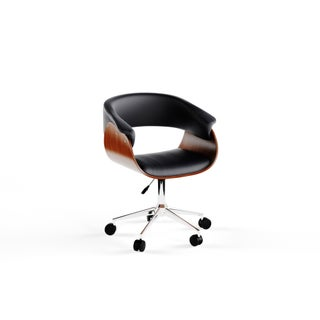 Porthos Home Liam Office Chair (Option: Black)