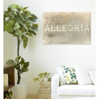 Blakely Home 'Allegria' Canvas Art