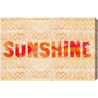 Blakely Home 'Sunshine' Canvas Art