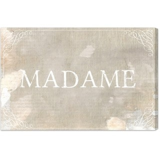 Blakely Home 'Madame' Canvas Art