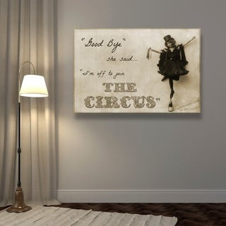 Blakely Home 'Join the Circus' Canvas Art