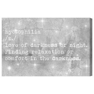 Blakely Home 'Nychtophilia' Canvas Art