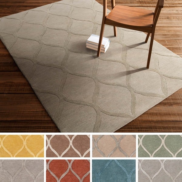 Hand-Tufted Lechlade Wool Rug (5' x 7'6)