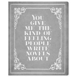 Blakely Home 'Kind of Feeling' Canvas Art