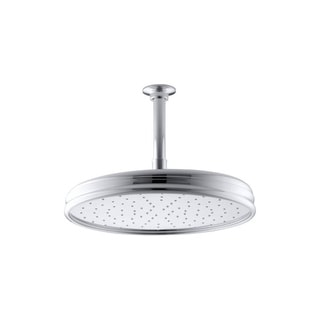 Kohler 1-spray 12 inch Traditional Round Rain Showerhead