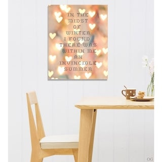 Blakely Home 'Invincible Summer' Canvas Art