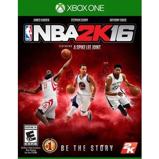 NBA 2K16 STND EDITION XBX1
