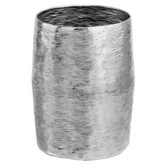 Barril Silver Barrel Stool/ Planter