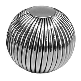 Raya 5-inch Striped Sphere
