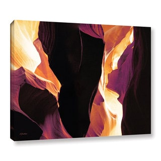 ArtWall Linda Parker 'Slot Canyon Light From Above 1' Gallery-wrapped Canvas