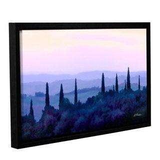 ArtWall Linda Parker 'Tuscan Morn ' Gallery-wrapped Floater-framed Canvas