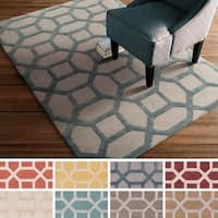 Hand-Tufted Korolevu Wool Area Rug - 4' x 6'