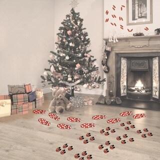 Christmas Character Footprints Decal Set
