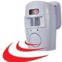Trademark Home 2-in-1 Motion Sensor Alarm and Chime