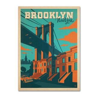 Anderson Design Group 'Brooklyn' Canvas Art