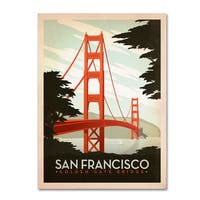 Anderson Design Group 'San Francisco' Canvas Art
