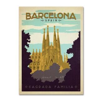 Anderson Design Group 'Barcelona, Spain' Canvas Art