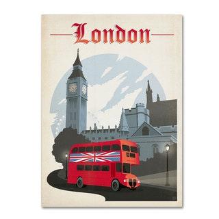 Anderson Design Group 'London, England' Canvas Art
