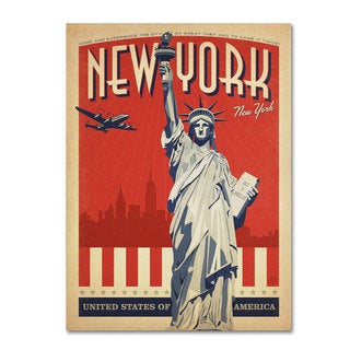 Anderson Design Group 'New York, NY II' Canvas Art
