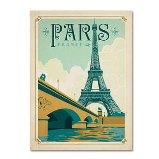 Anderson Design Group 'Paris, France' Canvas Art