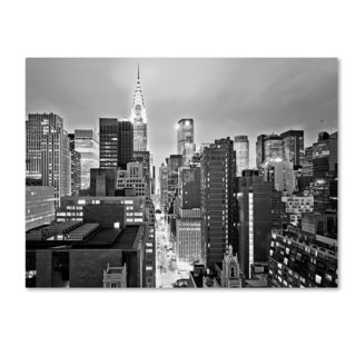Preston 'New York Skyline 2' Canvas Art