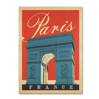 Anderson Design Group 'Paris, France III' Canvas Art