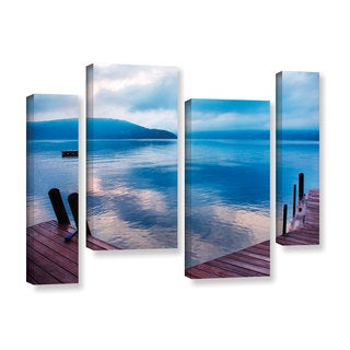 ArtWall Steve Ainsworth 'Interlude Filtered' 4 Piece Gallery-wrapped Canvas Staggered Set