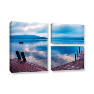 ArtWall Steve Ainsworth 'Interlude Filtered' 3 Piece Gallery-wrapped Canvas Flag Set