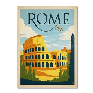 Anderson Design Group 'Rome, Italy' Canvas Art