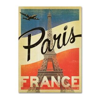 Anderson Design Group 'Paris, France IV' Canvas Art - Multi