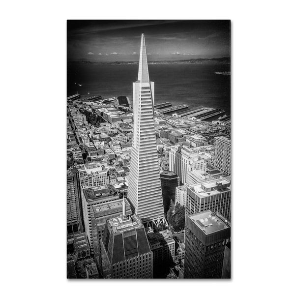 Shop Erik Brede 'The Transamerica Pyramid' Canvas Art Multi On Classy Transamerican Office Furniture Style