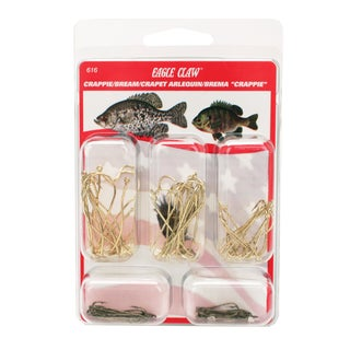 Eagle Claw Hook Assortment Crappie/Bream (Per 80)