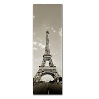 Preston 'Paris Eiffel Tower Vertical' Canvas Art
