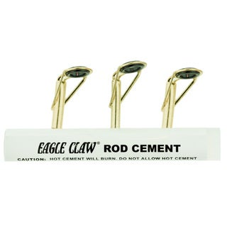Eagle Claw Eagle Claw Rod Tip Repair Kit with Glue Gold