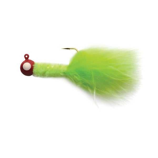 Eagle Claw Crappie Jig 0.332 oz Red-Chartreuse