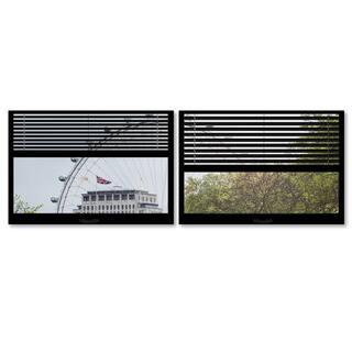Philippe Hugonnard 'Window View The London Eye 5' 2 Panel Art Set|https://ak1.ostkcdn.com/images/products/10431547/P17529541.jpg?impolicy=medium